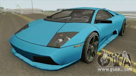 Lamborghini Murcielago 2008 (SA Style) for GTA San Andreas