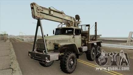 Ural 43204 Truck for GTA San Andreas