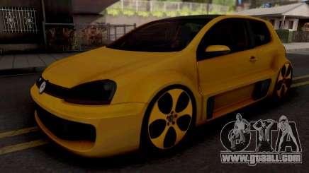 Volkswagen Golf GTI W12-650 for GTA San Andreas