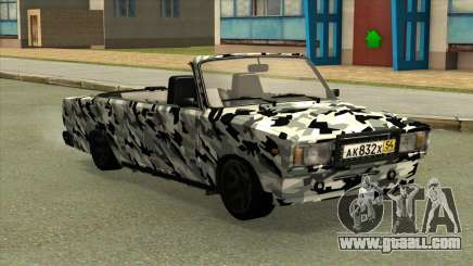 2107 Camouflage. for GTA San Andreas
