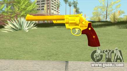 Golden Revolver for GTA San Andreas