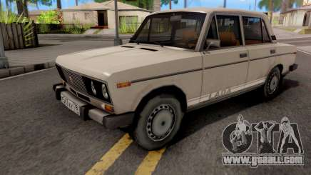 VAZ-2106 White for GTA San Andreas