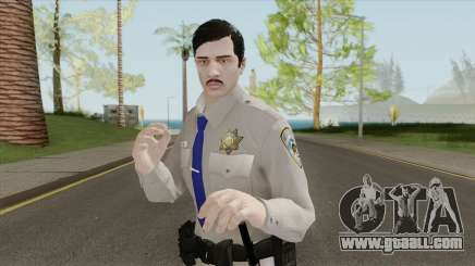 GTA Online Random Skin 16 SAHP Officer for GTA San Andreas