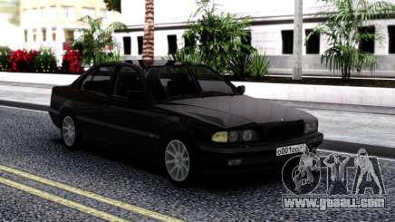 BMW 730i E38 Stock for GTA San Andreas