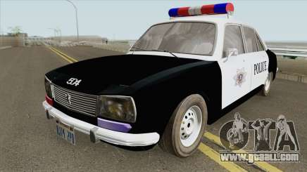 Peugeot 504 Police for GTA San Andreas