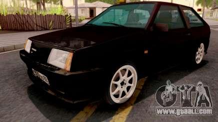 VAZ-2108 black for GTA San Andreas