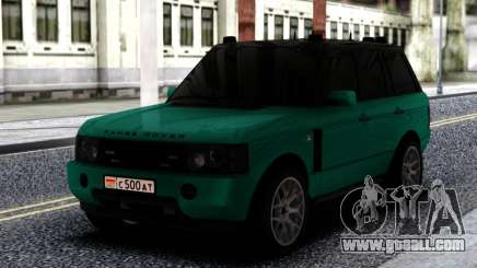 Land Rover Range Rover Green for GTA San Andreas