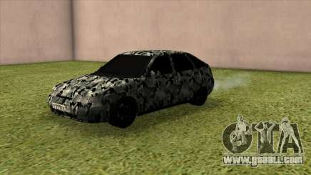 VAZ 2112 Camo for GTA San Andreas