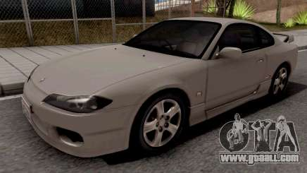 Nissan Silvia S15 Grey for GTA San Andreas