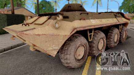BTR 70 from S.T.A.L.K.E.R for GTA San Andreas