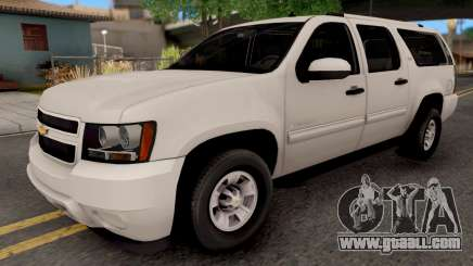 Chevrolet Suburban LT 2007 White for GTA San Andreas
