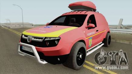 Dacia Duster - Pompierii 2010 for GTA San Andreas