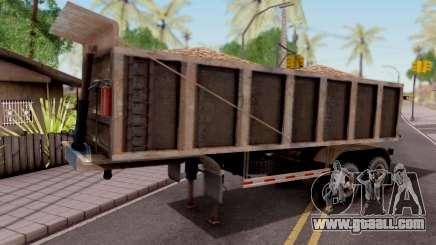 Trailer Volco (Desgastado) for GTA San Andreas