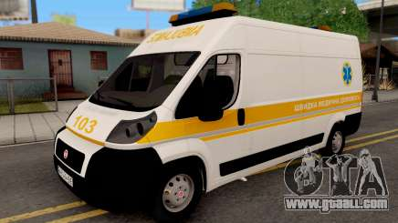 Fiat Ducato Ukraine Ambulance for GTA San Andreas