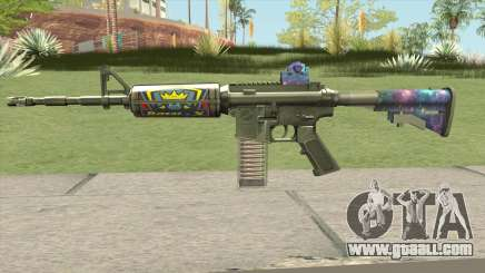 M4 (Ticket Skin) for GTA San Andreas