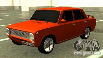 Red VAZ 2101 Tuning for GTA San Andreas