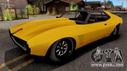 Schyster Deviant GTA V v2 for GTA San Andreas