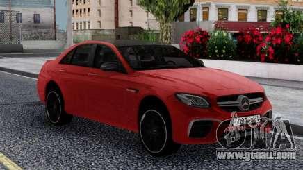 Mercedes-Benz E63s FIX for GTA San Andreas