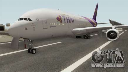 Airbus A380-800 (Thai Airways Livery) for GTA San Andreas