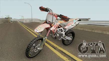 Aprilla MXV 450 for GTA San Andreas