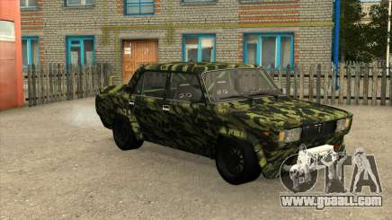 VAZ 2105 Drift Camo for GTA San Andreas