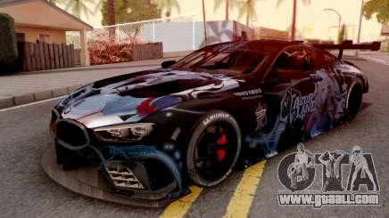 BMW M8 GTE Itasha Prinz Eugen for GTA San Andreas