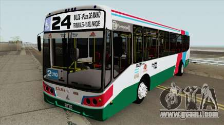 Linea 24 Todobus Pompeya II Agrale MT15 Interno for GTA San Andreas