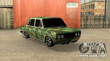 VAZ 2106 Sedan Camouflage for GTA San Andreas