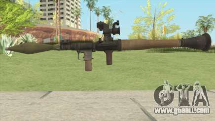 RPG 7 (Medal Of Honor 2010) for GTA San Andreas