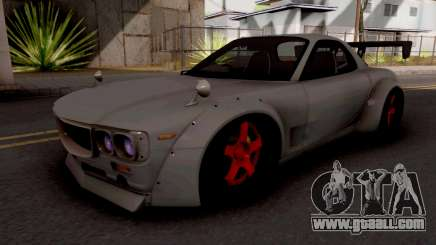 Mazda RX-7 Pandem Boss for GTA San Andreas