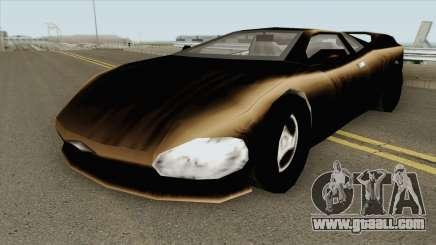 Infernus GTA III for GTA San Andreas