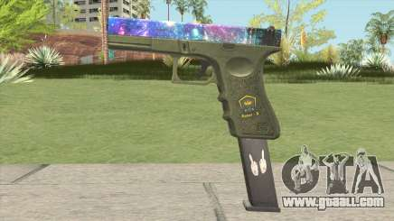 Desert Eagle (Ticket Skin) for GTA San Andreas