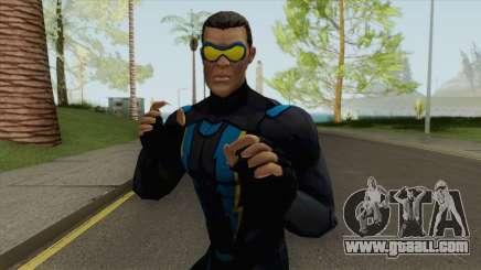 Black Lightning Heroic for GTA San Andreas