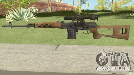SVD (Medal Of Honor 2010) for GTA San Andreas