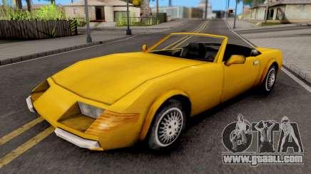 Stinger GTA VC for GTA San Andreas
