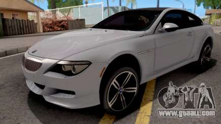 BMW M6 E63 2010 for GTA San Andreas