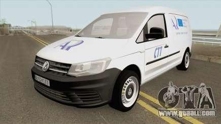 Volkswagen Caddy Registrul Auto Roman 2016 for GTA San Andreas