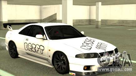 Nissan Skyline GTR 33 for GTA San Andreas