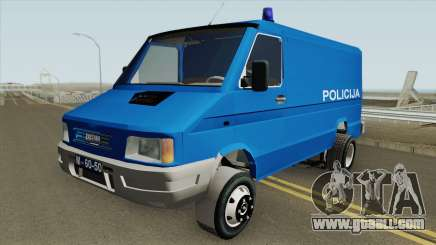 Zastava Daily 35B Yugoslavia Police for GTA San Andreas