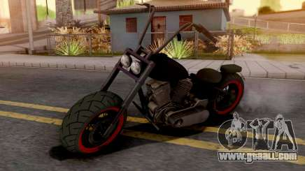 Zombie Bike for GTA San Andreas
