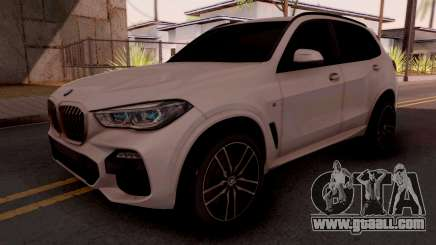 BMW X5M 30d Design for GTA San Andreas