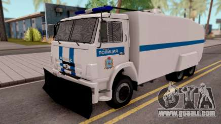 KamAZ 65116 Police for GTA San Andreas