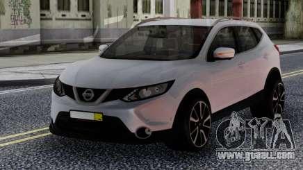 Nissan Qashqai 2016 White for GTA San Andreas