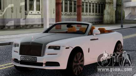 Rolls-Royce Dawn 2017 White for GTA San Andreas