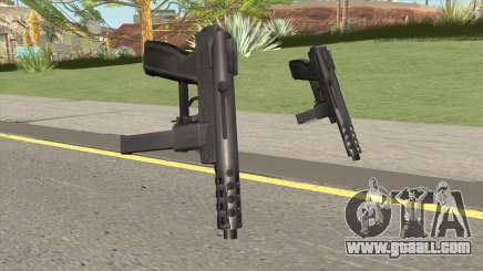Tec 9 HQ for GTA San Andreas