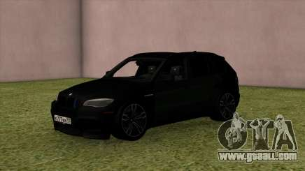 BMW X5M Black for GTA San Andreas