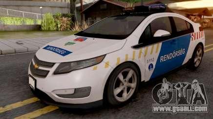 Chevrolet Volt Magyar Rendorseg for GTA San Andreas