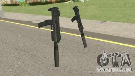 MP7 Silenced (Payday 2) for GTA San Andreas