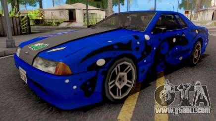 Blue Elegy Paintjob for GTA San Andreas