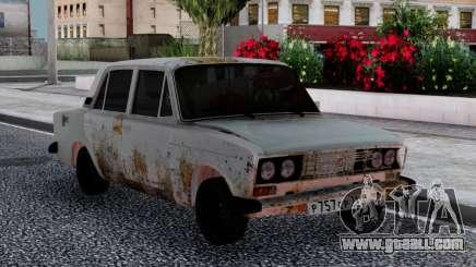 VAZ 2106 Rusty Sedan for GTA San Andreas